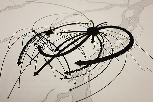 Les migrations. Foto: Jodi Green. https://www.flickr.com/photos/jodigreen/9596651970/. CC BY-NC-ND 2.0